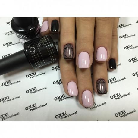 Гель - лак Oxxi №28 (светлый сиренево-розовый, эмаль)