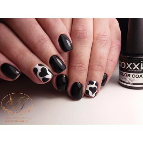Гель - лак Oxxi №56 (черный, эмаль)