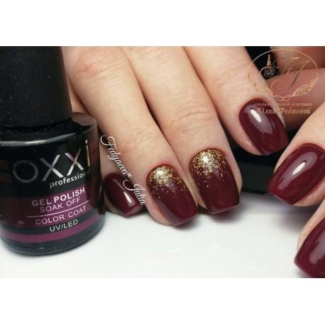 Гель - лак Oxxi №158 (бордо, эмаль)