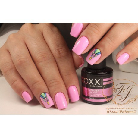 Гель - лак Oxxi №232 (светло-розовый, неон)