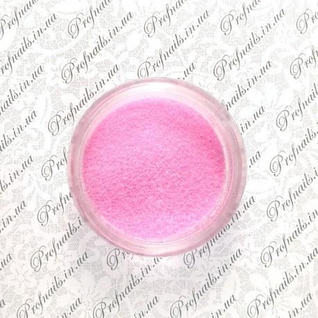 Сахарный песок №03 ярко-розовый