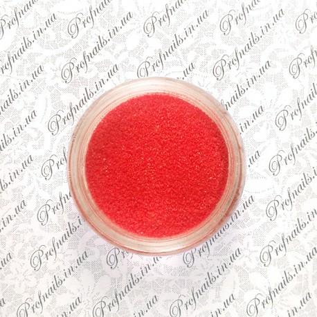Сахарный песок №07 красный