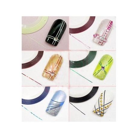 Нить фольга для дизайна ногтей