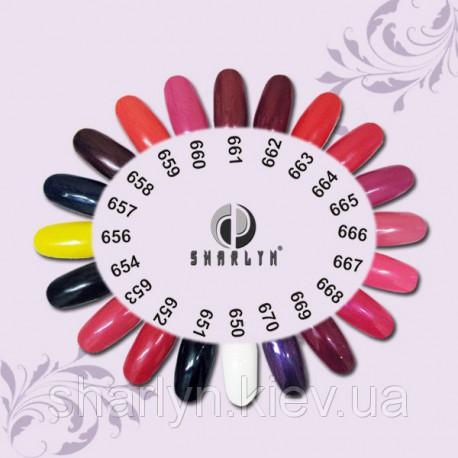 Цветные гели – глянец ТМ «Sharlyn»