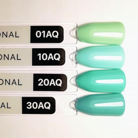Гель-лак Kodi №AQ 01 (нежно-зеленый, эмаль) 8мл