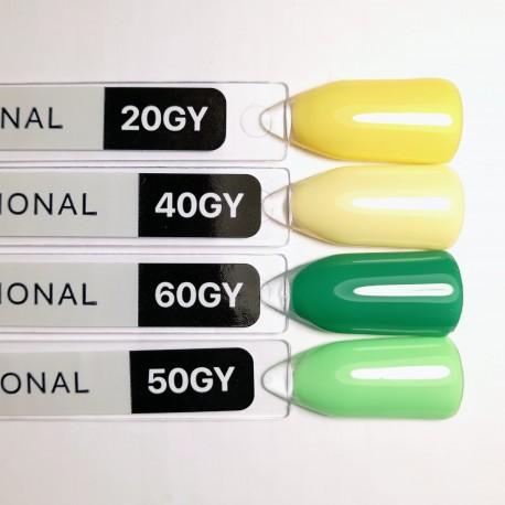 Гель-лак Kodi №GY 40 (ванильно-желтый, эмаль) 8мл