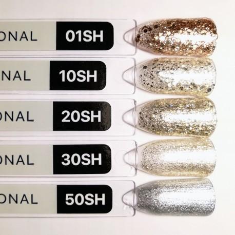 Гель-лак Kodi № 50 SH (серебро перламутровый металлик) 8мл