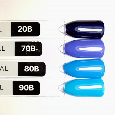 Гель-лак Kodi № 20 B (темно-синий с шиммером) 8мл