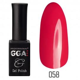 Гель-лак GGA Professional №58