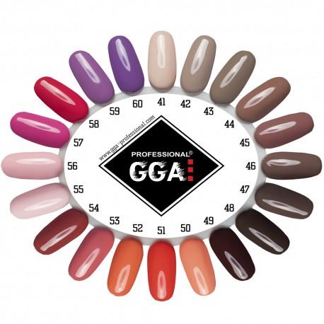 Набор для покрытия ногтей гель лаком GGA Professional с LED лампой 24Ватт и фрезером