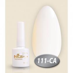 Гель лак акварель белый 111 С-А