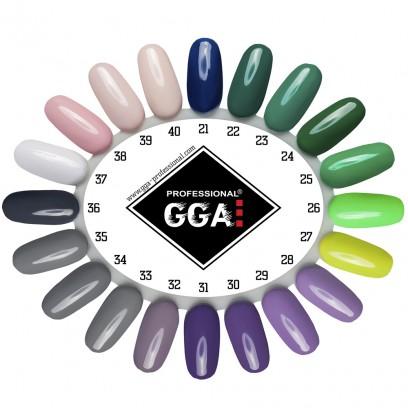 Гель-лак GGA Professional №21