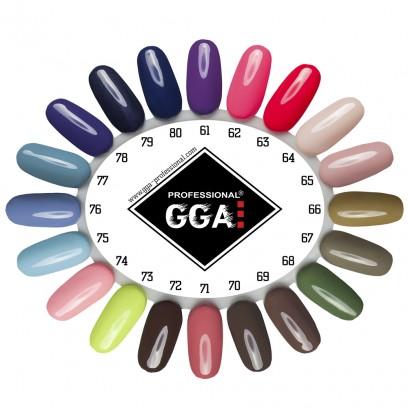 Гель-лак GGA Professional №80