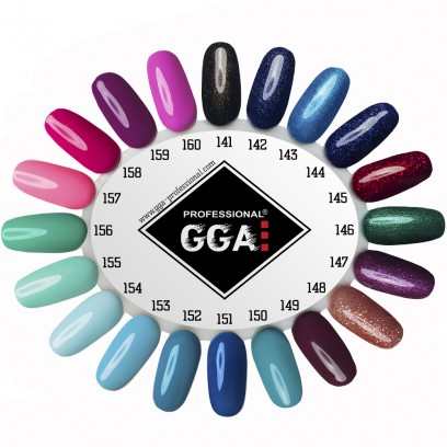 Гель-лак GGA Professional №144
