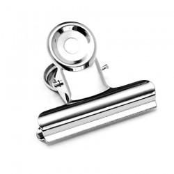 Прищепка металлическая большая для зажима ногтей (создания арки)