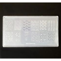 Пластина для стемпинга КD-05