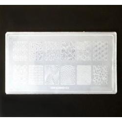 Пластина для стемпинга КD-02