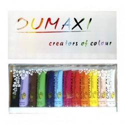 Акриловые краски для художественной росписи ногтей Оumaxi, 12 шт