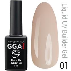 Жидкий гель для наращивания ногтей GGA Professional № 1