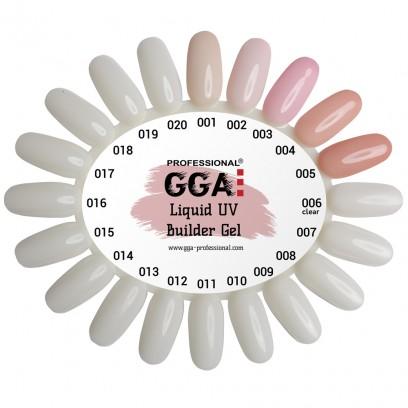 Жидкий гель для наращивания ногтей GGA Professional № 2
