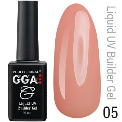 Жидкий гель для наращивания ногтей GGA Professional № 5