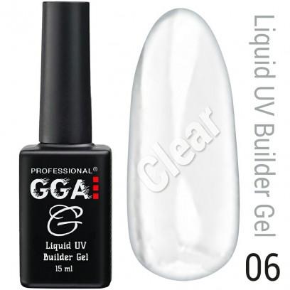 Жидкий гель для наращивания ногтей GGA Professional № 6