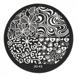 Стемпинг диск для ногтей, JQ43