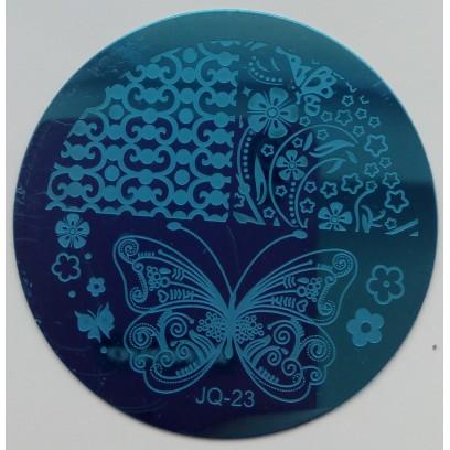 Стемпинг диск для ногтей JQ 23