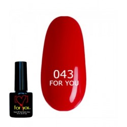 гель лак For You № 43