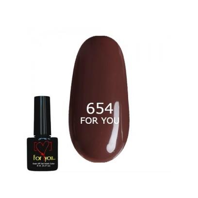 гель лак For You № 654