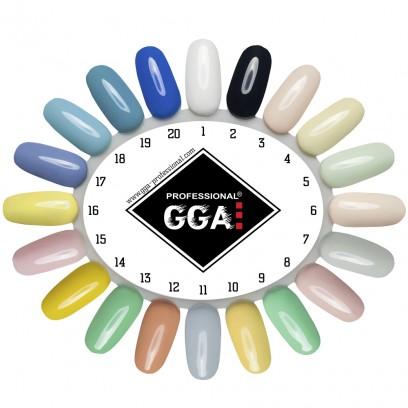Стартовый набор для покрытия ногтей гель-лаком ТМ GGA Professional