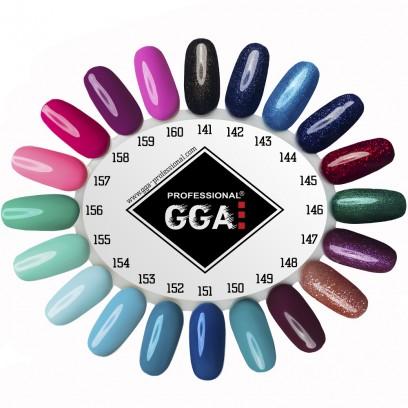 Маникюрный набор для ногтей гель-лаки GGA Professional с лампой UV/LED Sun One и фрезером DM-211