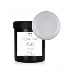 Однофазный гель для наращивания ногтей iGel Crystal Clear №02