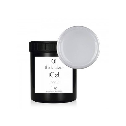 Гель для наращивания ногтей iGel Crystal Clear №01