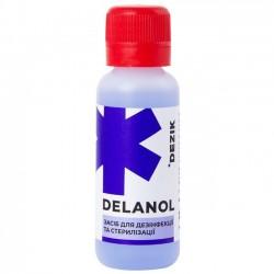 Жидкость для дизинфекции и холодной стерелизации Деланол 20 мл